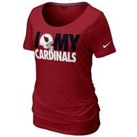 Nike Arizona Cardinals Women's Team Dedication Tri-Blend T-Shirt #Fanatics
