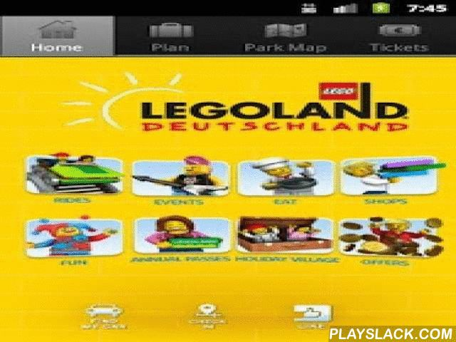 LEGOLAND Deutschland  Android App - playslack.com , Get the brand-new, exciting LEGOLAND Deutschland app and become a real LEGOLAND Insider.App includes the following features:•Virtual Park Map•Ticketshop•Find my car•Overview of shows, events, rides, shops, restaurants and a lot more..