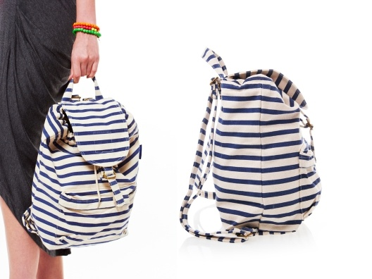 Backpack by Baggu: Thoughts, Nautical Stripes, Cute Backpacks, Bags Purses, Baggu I, Bags Clutches Tots, Purses Bags, Baggu W, Accessories Debate