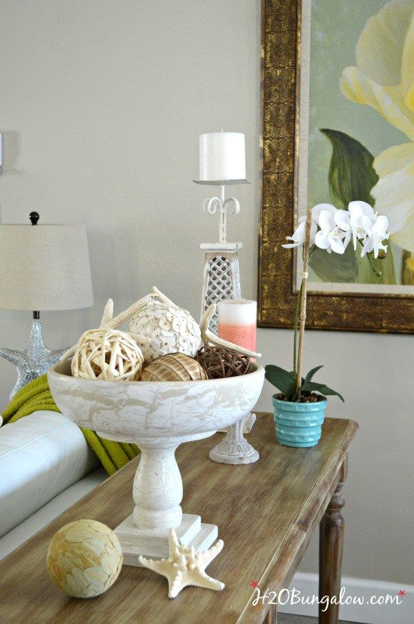 DIY Bed Spindle Pedestal Bowl