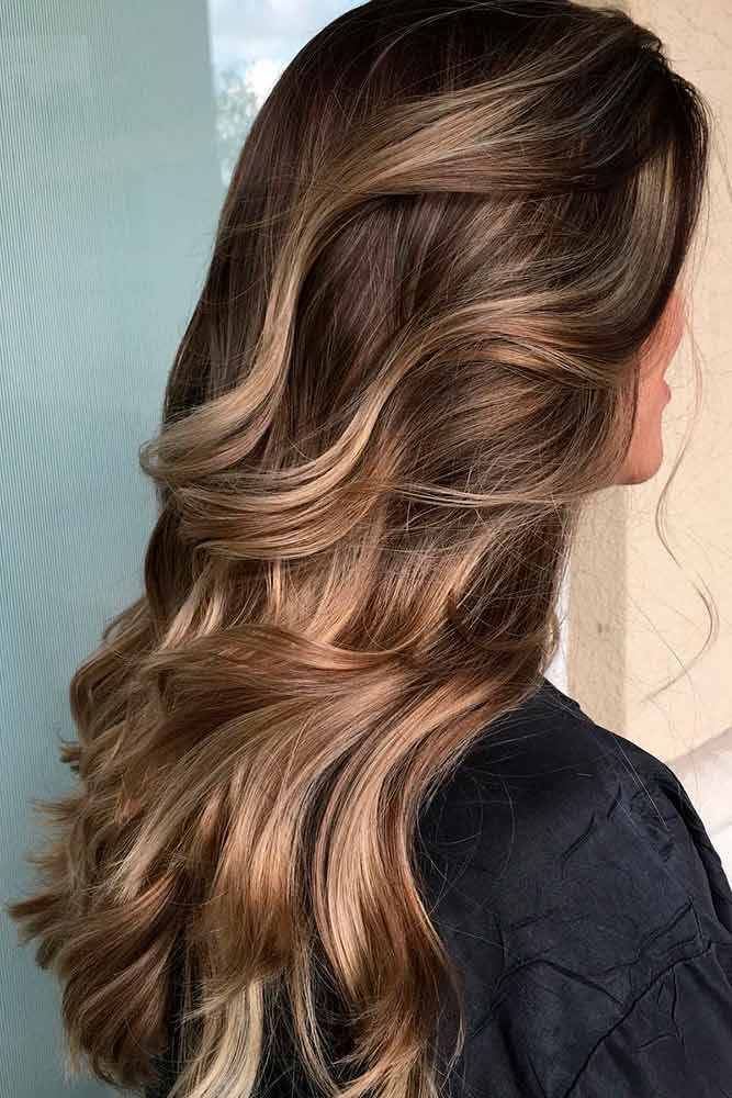Highlights for Dark Brown Hair Color Tiger Eye. Are you looking for hair color highlights and lowlights for brunettes blonde caramel? See our collection full of hair color highlights and lowlights for brunettes blonde caramel and get inspired!