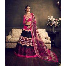 Pink Color Eri Silk Digital Print Lehenga With Designer Work Choli And Pure Georgette Dupatta