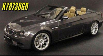 Kyosho BMW M3 E93M Convertible Grey Due Dec 2008 http://www.comparestoreprices.co.uk/diecast-model-cars--others/kyosho-bmw-m3-e93m-convertible-grey.asp