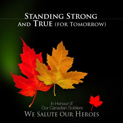 """""""Standing Strong And True (For Tomorrow)"""" single by Standing Strong And True Artists [including One More Girl]"""
