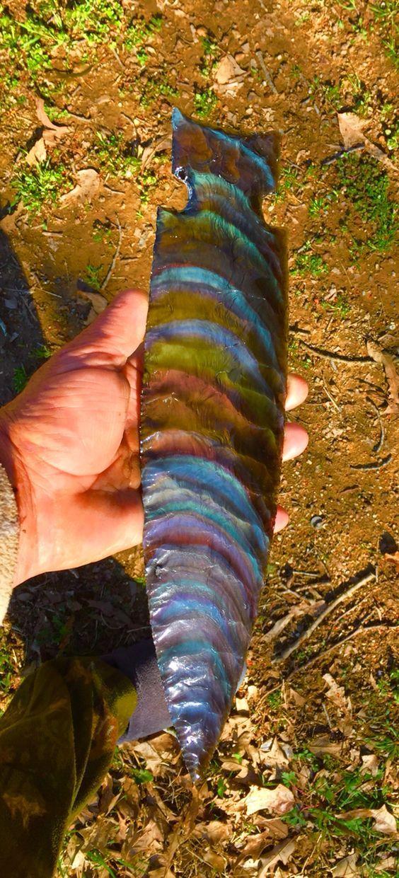 Rainbow obsidian #crystals #obsidian #gem