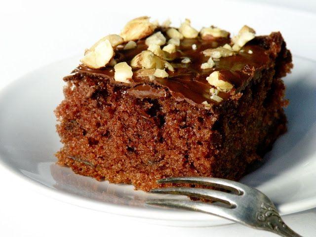 Bake&Taste: Czekoladowe ciasto z cukinią