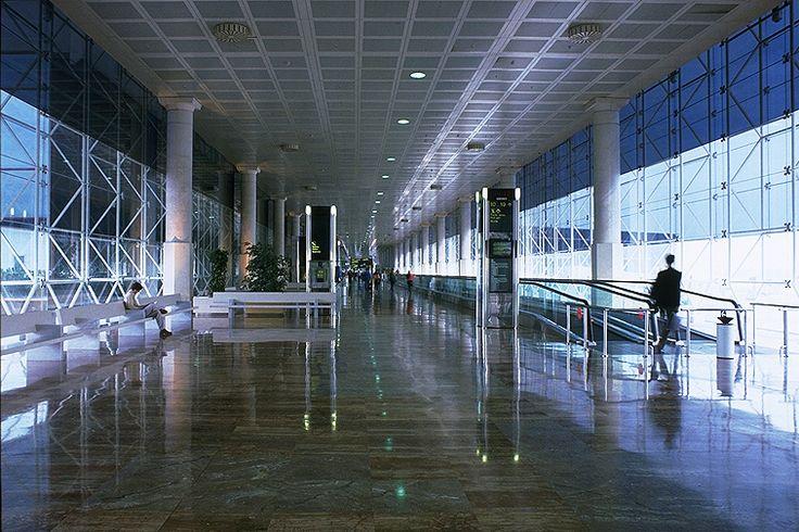 Terminal 2 at the Barcelona Airport in El Prat de Llobregat, Barcelona, Spain Ricardo Bofill Taller de Arquitectura