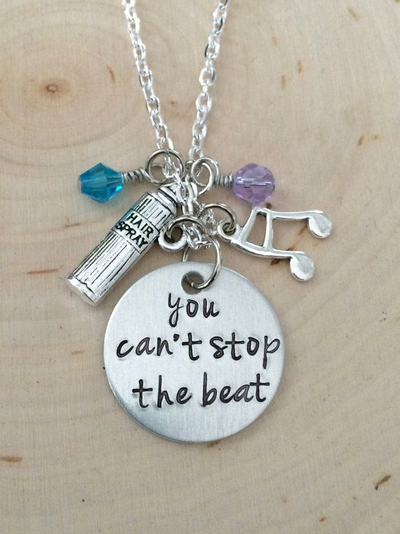 Hairspray Musical Necklace Hairspray Can't by BloomGirlJewelry