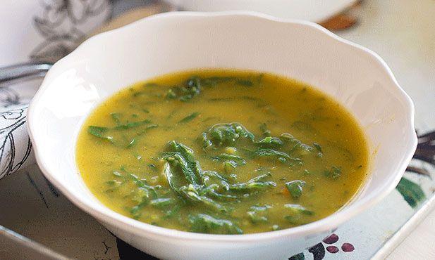 Caldo verde, ideal para um final de festa tardio ou para iniciar uma refeição nos dias mais frios.