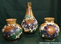 Dutch plateel vases Amphora Oegstgeest