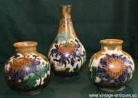 Dutch plateel vases Amphora Oegstgeest