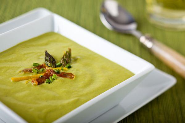 Asparagus soups