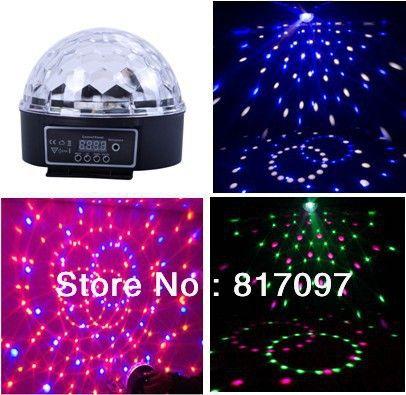 Venta LED Bola Magica 6X3W 18X6 LED Lens KTV Bares Discotecas Hoteles Etapa Partido Hogar Tienda Eventos Fiestas Led Efectos Luz