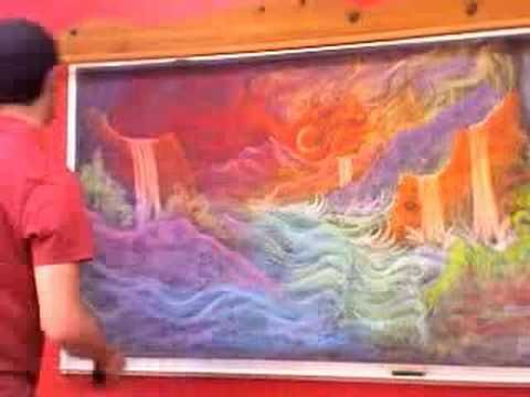 Brian Wolfe is the movement and art teacher at the Davis Waldorf School. He loves to do chalkboard drawings for his colleagues... ART - WALDORF - NEW VERSION!