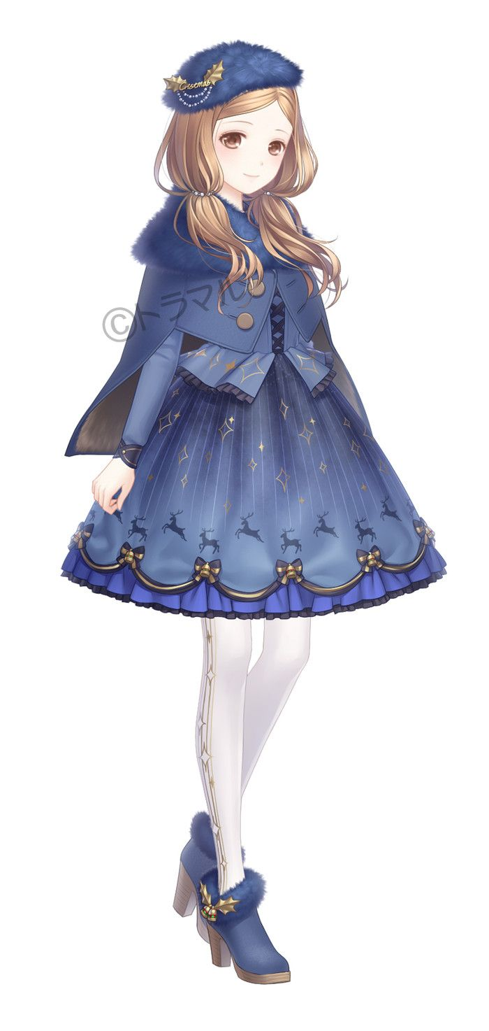 Anime girl | cute...wait almost looks like Mary Poppins