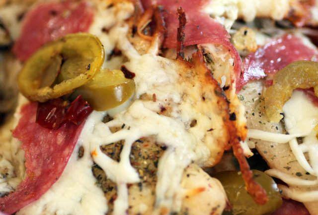How to make Pizza Nachos Italiano