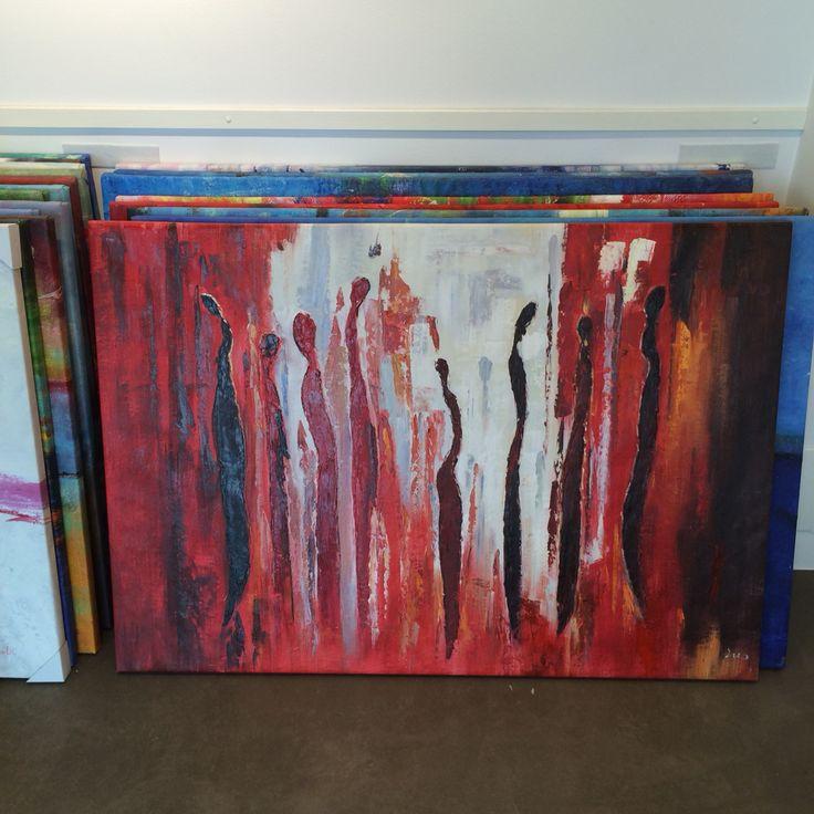 Oilpainting, 130x90 cm. www.artxl.se