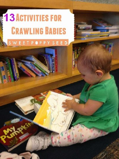 Having a hard time finding activities for Crawling Babies that do not walk yet??? Have no fear! Here are my favorite 13 Activities for Crawling Babies.