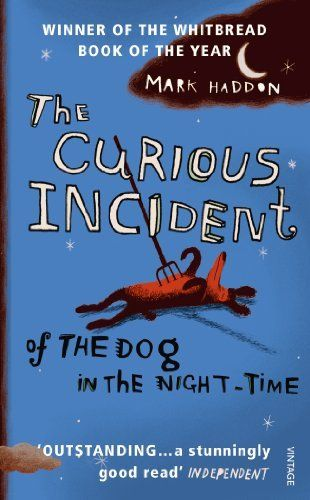 The Curious Incident of the Dog in the Night-time by Mark Haddon, http://www.amazon.co.uk/dp/B0031R5K8G/ref=cm_sw_r_pi_dp_98JGtb1BD7005