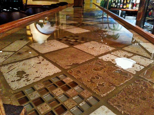 34 best Epoxy Resin Bar Tops images on Pinterest | Bar tops, Counter ...