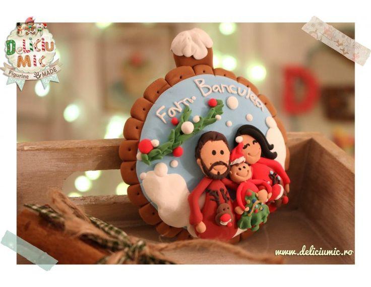 Glob de brad  Familie fericită