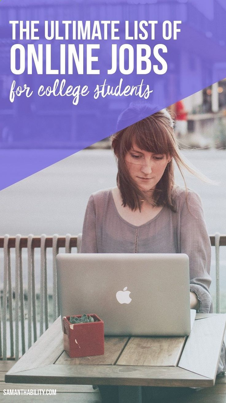 best online jobs for students ideas  best list of online jobs for college students that pay well and give you the flexibility