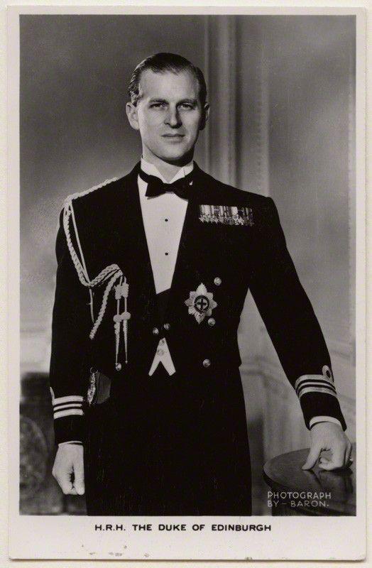 Принц Филипп Эдинбургский в молодости (Фото)