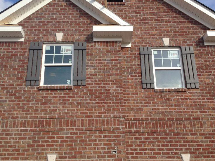 Fredericksburg Brick Mmm Gray Mortar For Sure New Home
