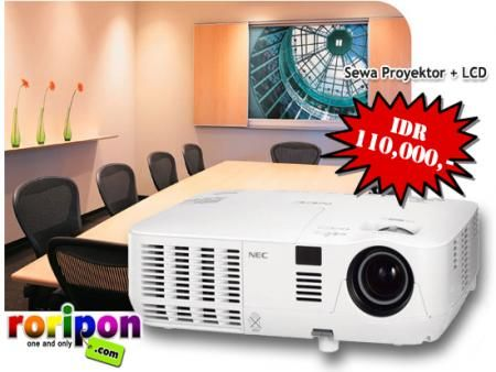 projector FOR RENT only at www.roripon.com