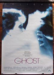 Ghost,Movie Poster,Romance,Demi Moore,Patrick Swayze,'90 £20.00