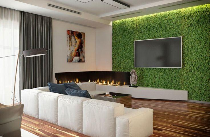 10 besten modernes haus mit einer lebenden wand pflanzen an der wand bilder auf pinterest. Black Bedroom Furniture Sets. Home Design Ideas