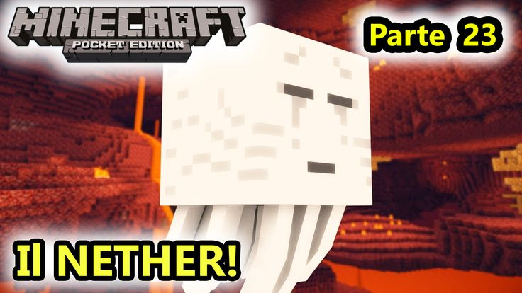 Minecraft PE - NEHTER impossibile! - Android Eccoci al sabato Minecraft Pocket Edition per Android. L'ultima volta abbiamo visto come costruire il portale per l'accesso al nether, ed oggi faremo il nostro ingresso in questo terribile sottomondo #minecraft #minecraftpe #nether