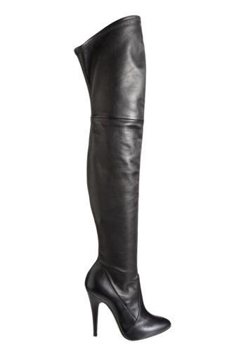 Damenstiefel schwarz mit keilabsatz