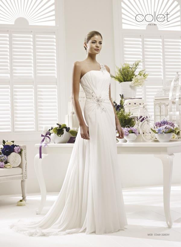 Collezione abiti da sposa #Colet 2013, abito da #sposa COAB13283IV