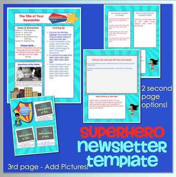 Best 25+ Newsletter templates word ideas on Pinterest Newsletter - employee newsletter template