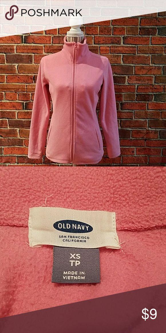 Old Navy pretty pink full zipper fleece jacket Warm and  soft fleece jacket Old Navy Jackets & Coats