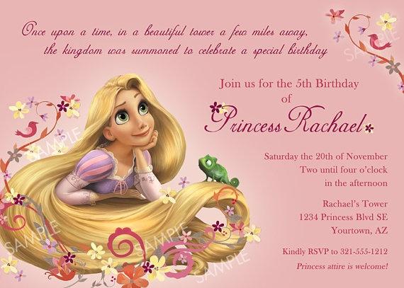 55 best Rapunzel images – Rapunzel Party Invitations