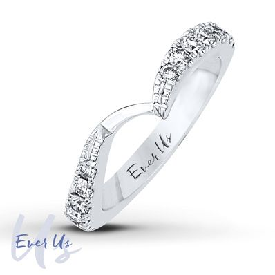 Ever Us Band 5/8 ct tw Diamonds 14K White Gold