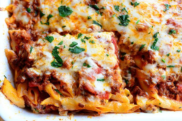Baked Ziti for the win!