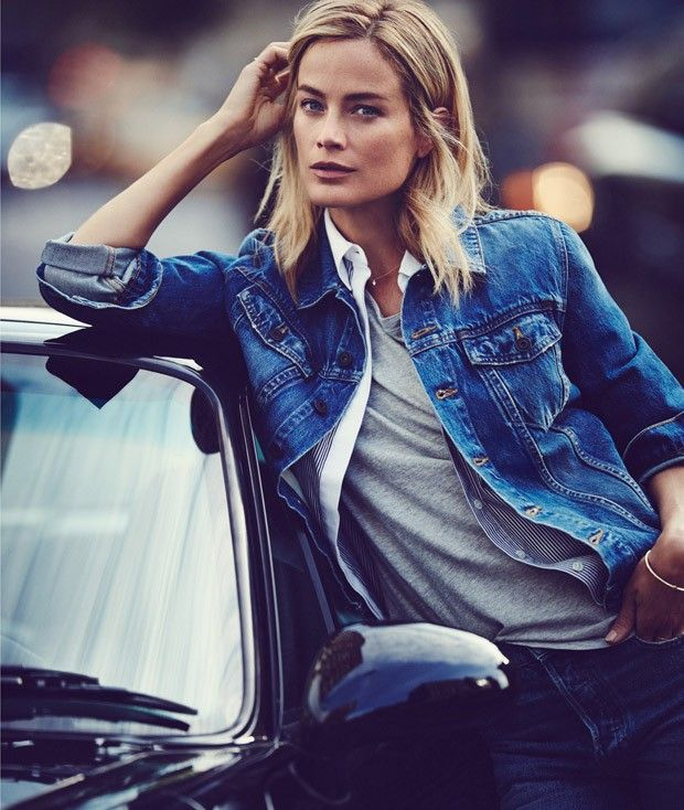 Supermodel Carolyn Murphy takes the cover story of The Edit by Net-A-Porter's latest issue captured by fashion photographer Emma Tempest with styling from Morgan Pilcher. Makeup is work of Rose Marie Swift with hair styling by David Von Cannon and manicure by Michina Koide.