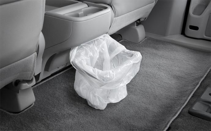 The Flip Up Trash Bag Ring In The Honda Odyssey Is