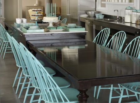 turquoise kitchen chairs paint my black iron chairs