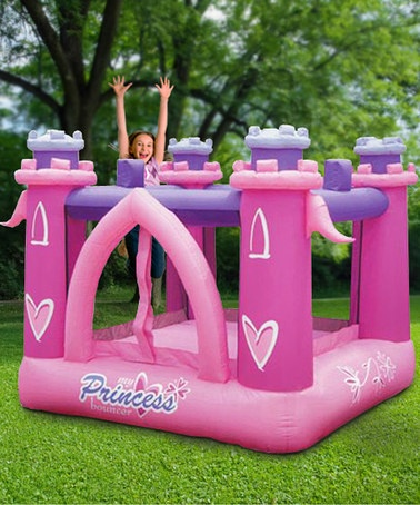 Take a look at this My Little Princess Bounce House by KidWise on #zulily today!----I want this in MY backyard!!!