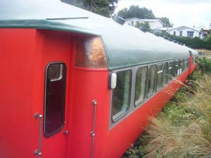 Rail carriage - Ohakune