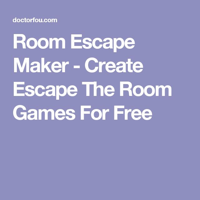 No Timed Escape Room Games