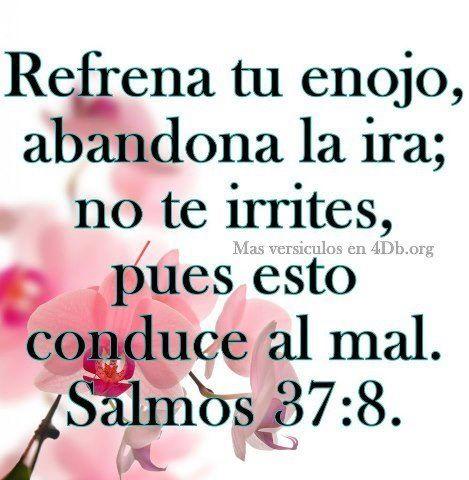 Salmos 37: 8