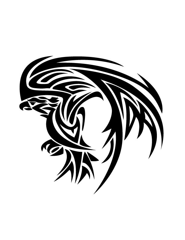 Tattoos 10 handpicked ideas to discover in tattoos for Tribal eagle tattoos