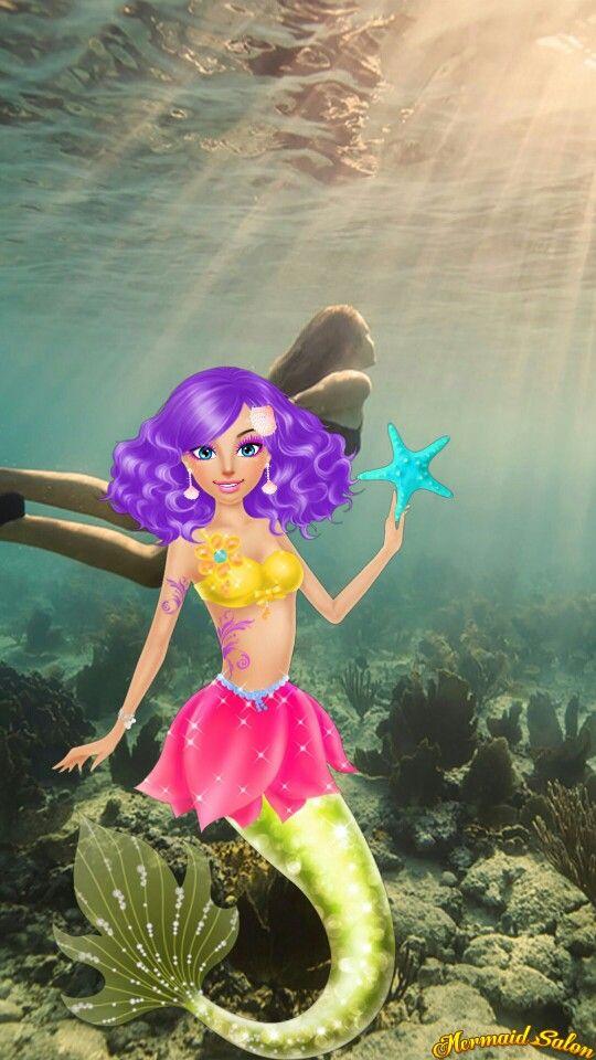 Mermaid salon game
