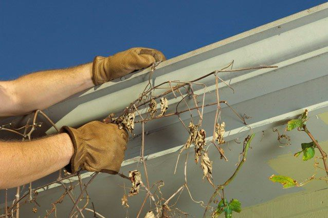 When you consider that your roof 's drainage system diverts thousands of gallons of water a year from your house's exterior and foundation w...