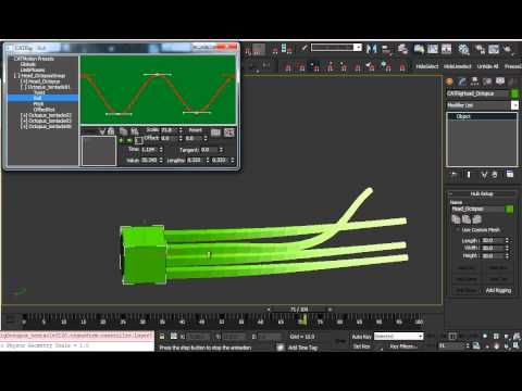 Tutorial How to create animated Tentacles with 3dsmax CAT Part 1 - YouTube
